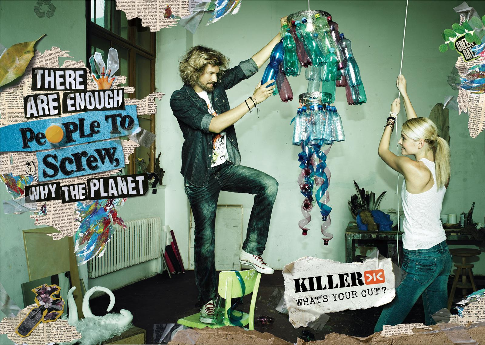 Killer Jeans:  Recycle