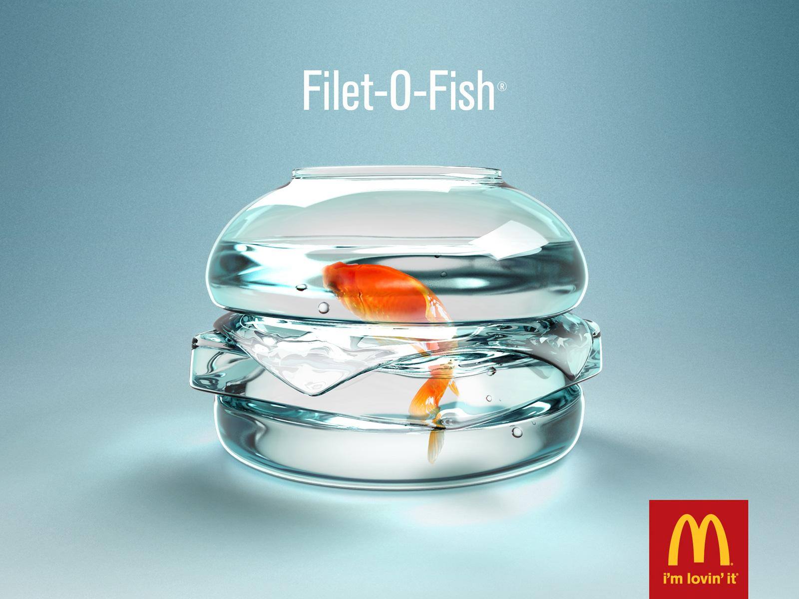 McDonald's:  Fish bowl