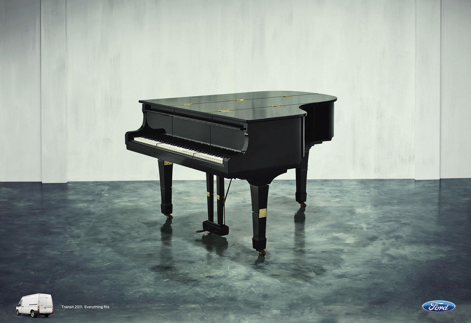 Ford:  Hinges Campaign, Piano