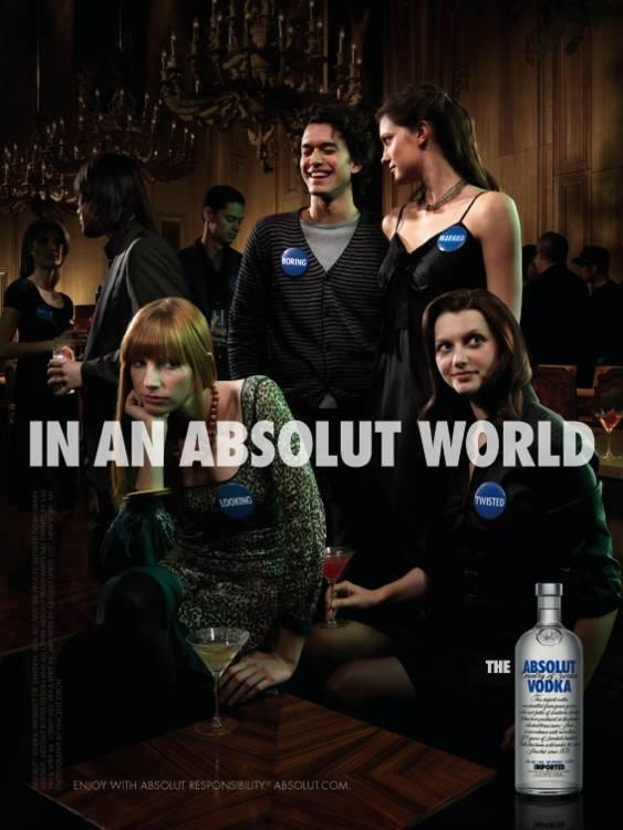 Absolut:  Party