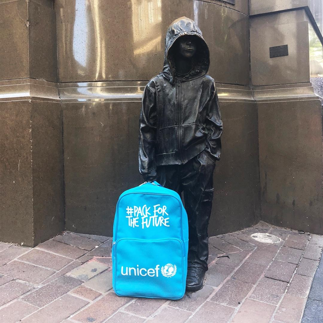 Unicef: Pack for the Future