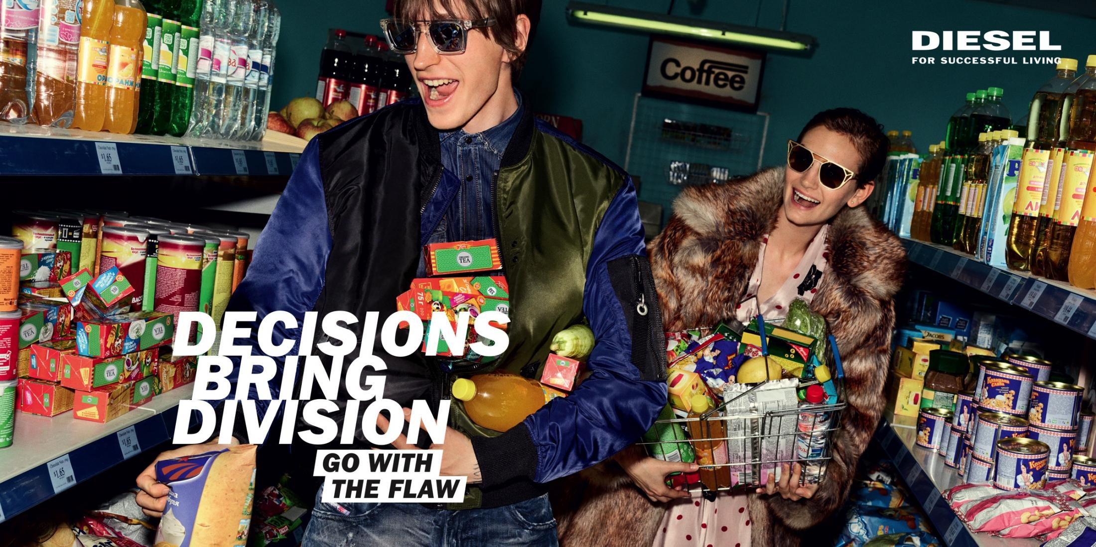Diesel: Go With The Flaw - Shopping