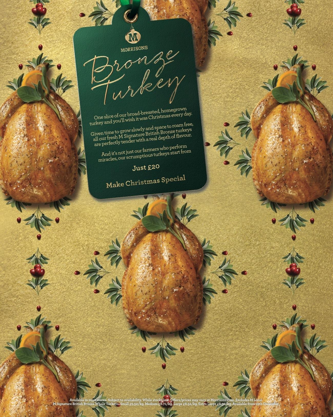 Morrisons:  Turkey