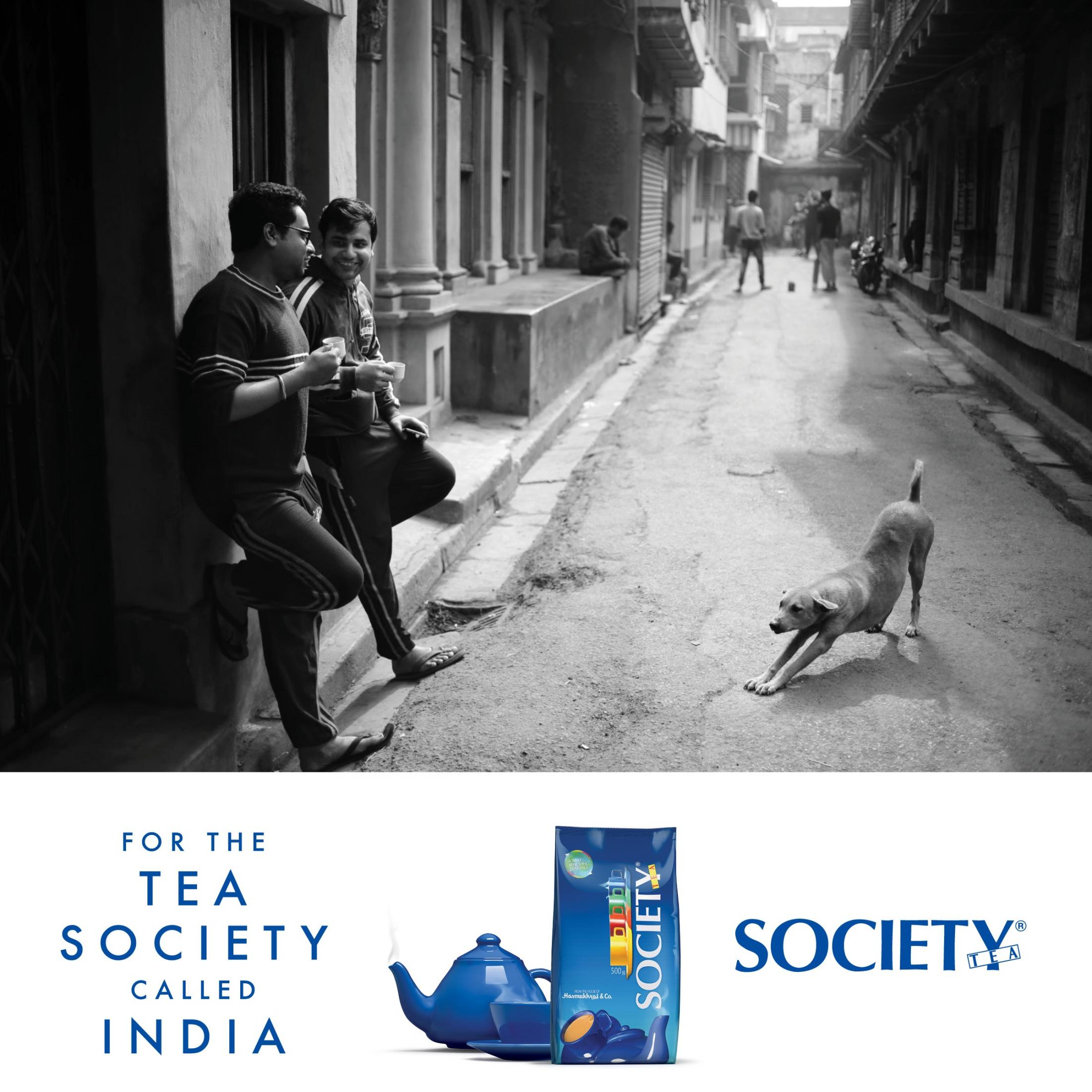Society Tea Print Ad - Tea Society
