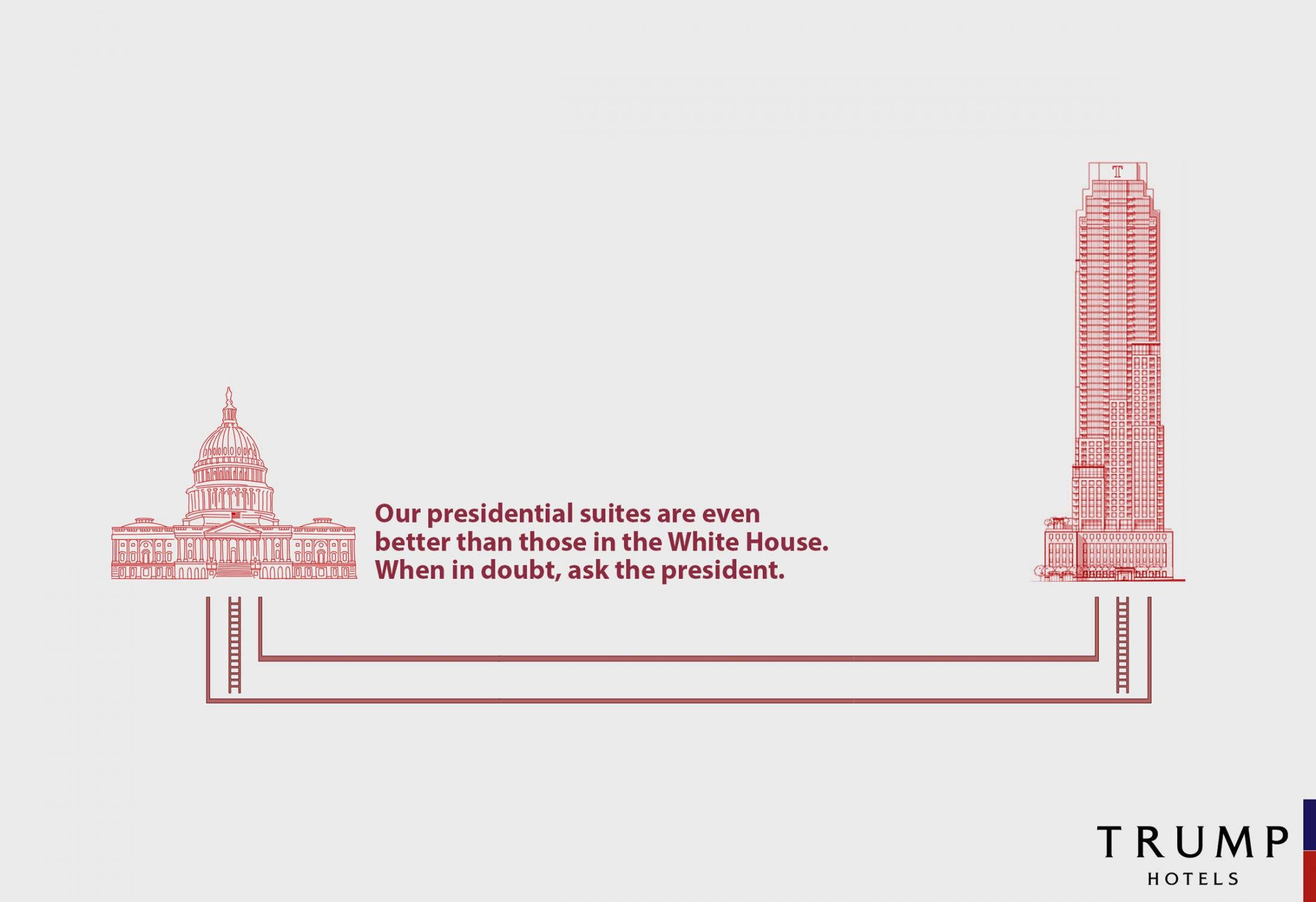 Trump Hotels: Better than the White House