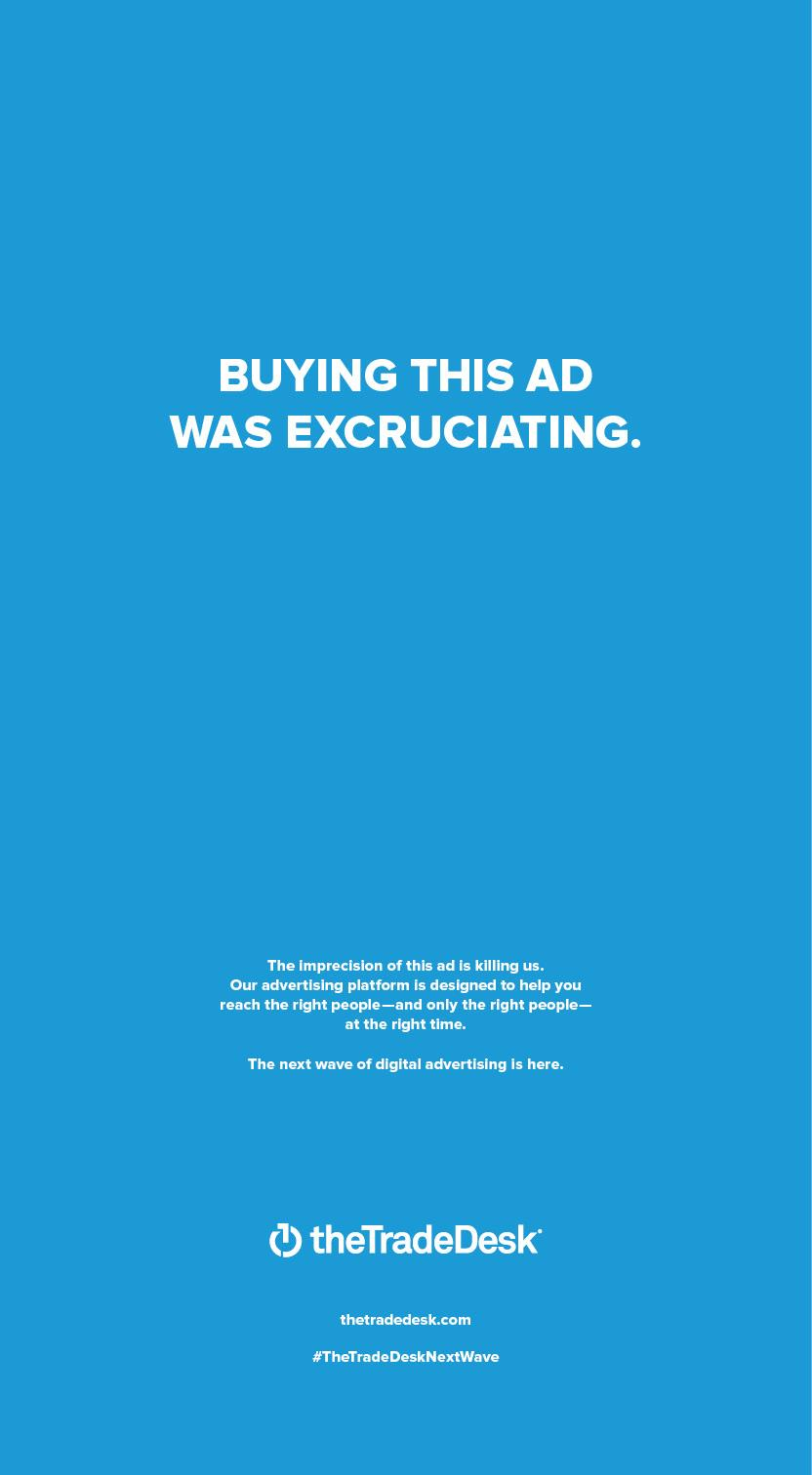 The Trade Desk: Buying This Ad Was Excruciating