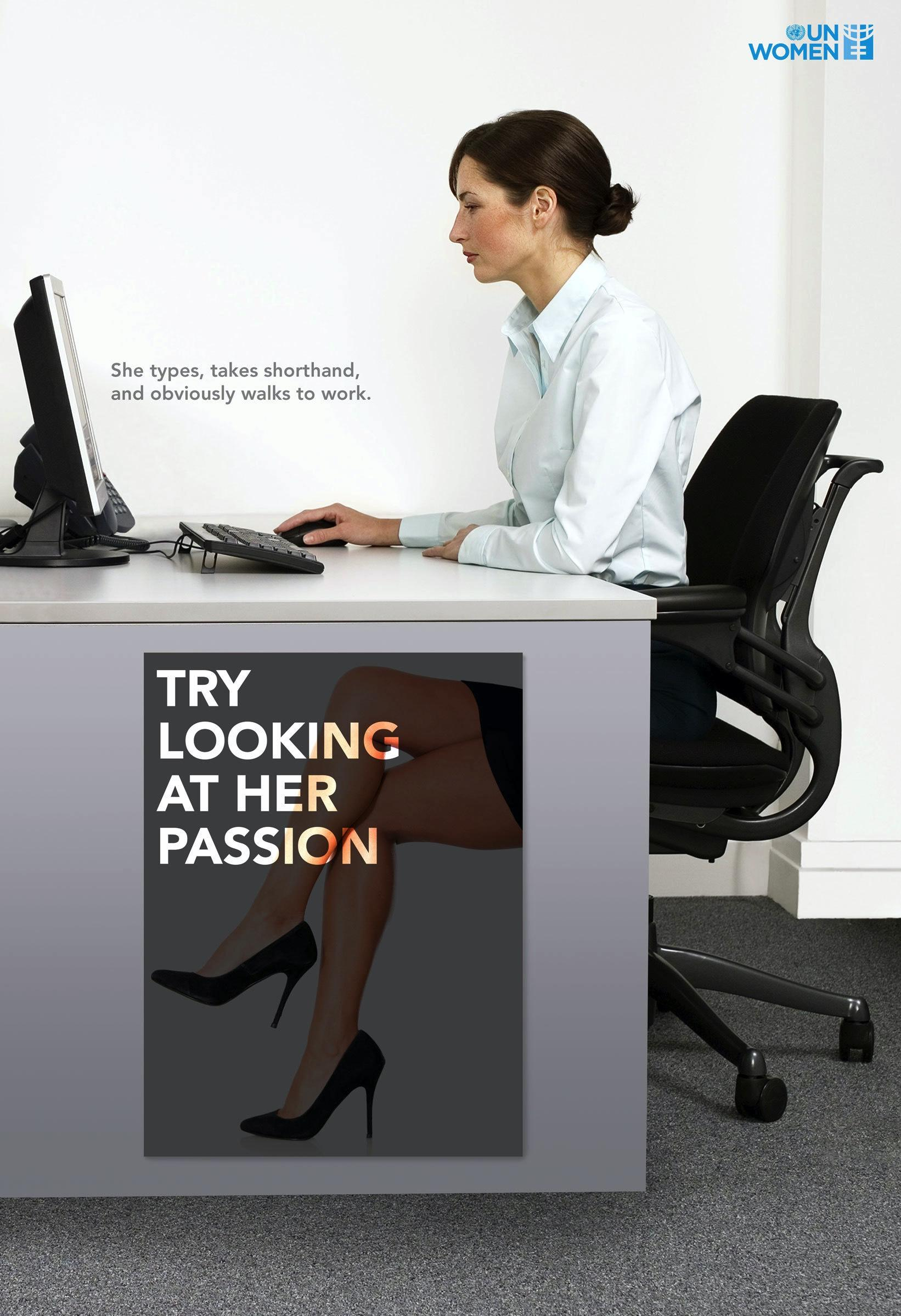 UN Women: Try looking at her ability